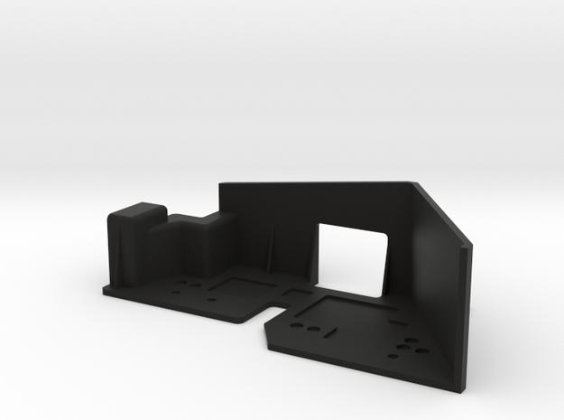 JK LH Fender SSD Trans in Black Natural Versatile Plastic