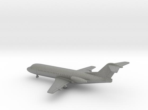 Fokker F28-2000 Fellowship in Gray PA12: 1:350