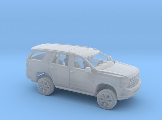 1/87 2021 Chevrolet Tahoe Kit in Smooth Fine Detail Plastic