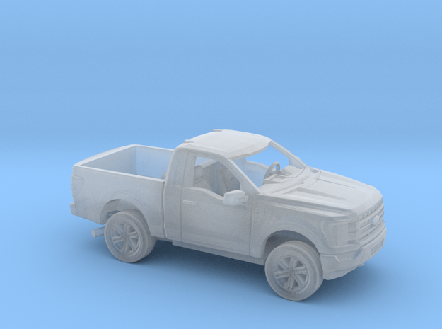 1/160 2021 Ford F150 Regular Cab Short Bed Kit in Smooth Fine Detail Plastic