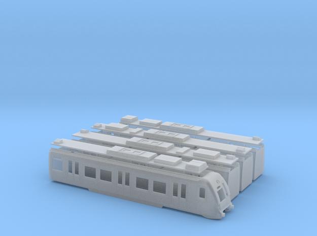 Euskotren UT900 in Smooth Fine Detail Plastic: 1:120 - TT
