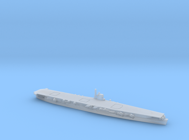 Japanese Aircraft Carrier Hiryu in Smooth Fine Detail Plastic