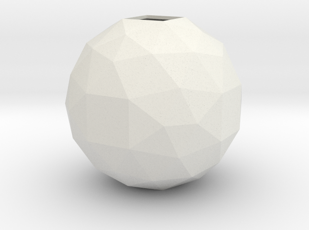 lawal 108 mm f134 polyhedron  in White Natural Versatile Plastic