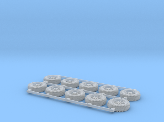 Humber Tires 1/144 scale in Smooth Fine Detail Plastic