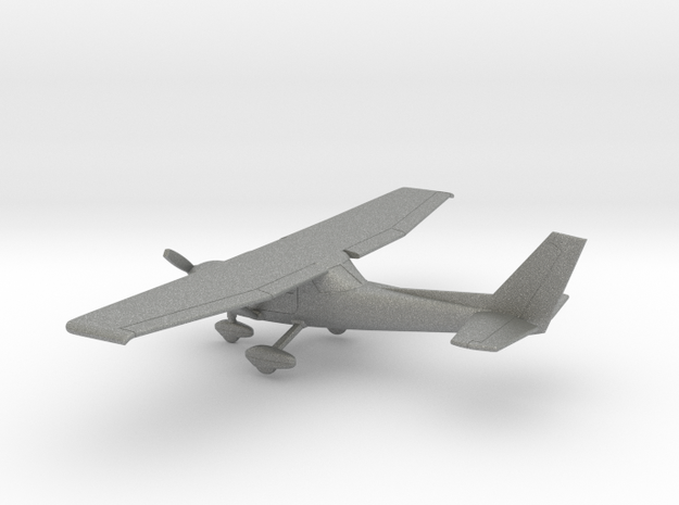 Cessna 152 in Gray PA12: 1:100