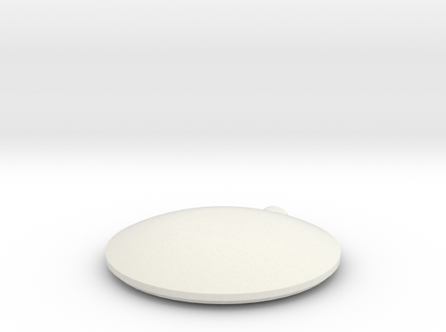 Naza Lite GPS Top Shell  in White Natural Versatile Plastic
