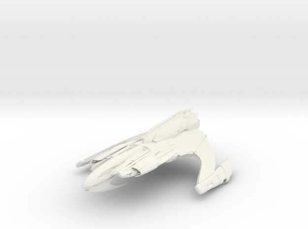 Zacordor Class B BattleCruiser in White Strong & Flexible