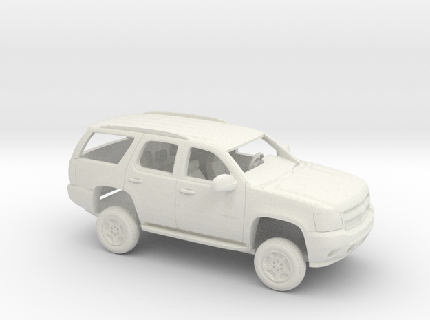 1/72 2007 Chevrolet Tahoe Kit in White Natural Versatile Plastic