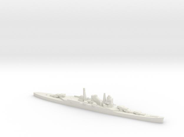 IJN Mogami cruiser 1:1200 WW2 in White Natural Versatile Plastic