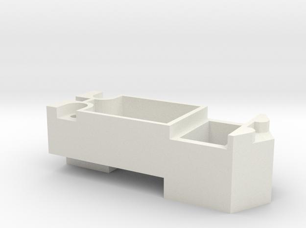 Athearn SD40-2 15x11 speaker box in White Natural Versatile Plastic
