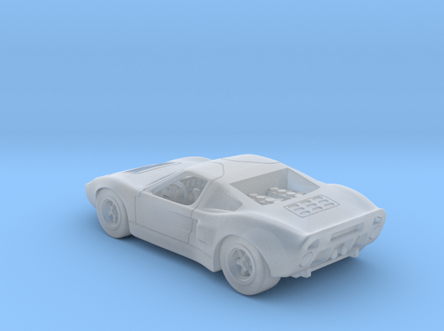 Ford GT40 1:120 TT in Smooth Fine Detail Plastic