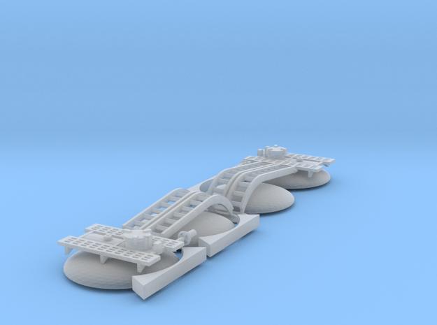 2x TT/3mm 35T Tank Wagon Fittings in Smooth Fine Detail Plastic