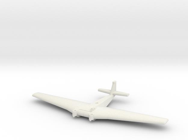 Ju-322-285-x1 in White Natural Versatile Plastic