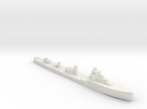HMS Velox LR Escort 1:1200 WW2 in White Natural Versatile Plastic