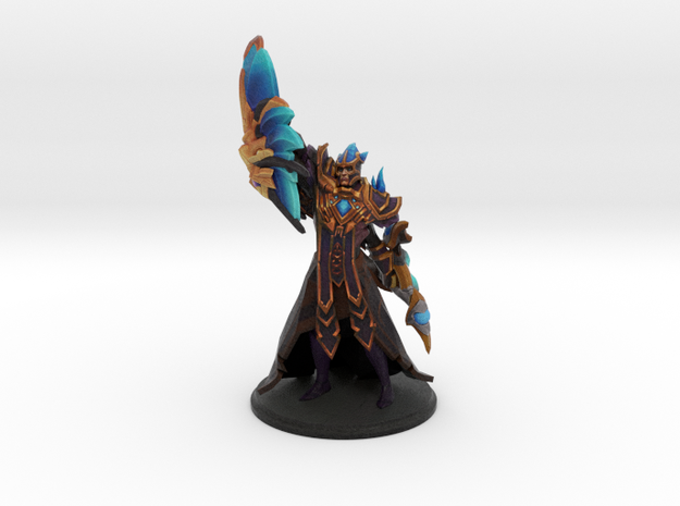 Silencer in Aeol Drias Set in Natural Full Color Sandstone
