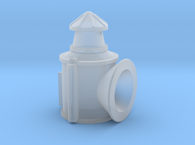O Gauge LBSCR Lamp in Smooth Fine Detail Plastic