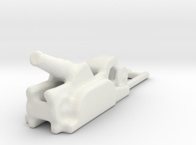 Mortaio da 210 8 D.S. 1/160 ww1 in White Natural Versatile Plastic