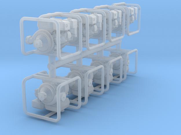 1-72_port_pump_x8 in Smooth Fine Detail Plastic
