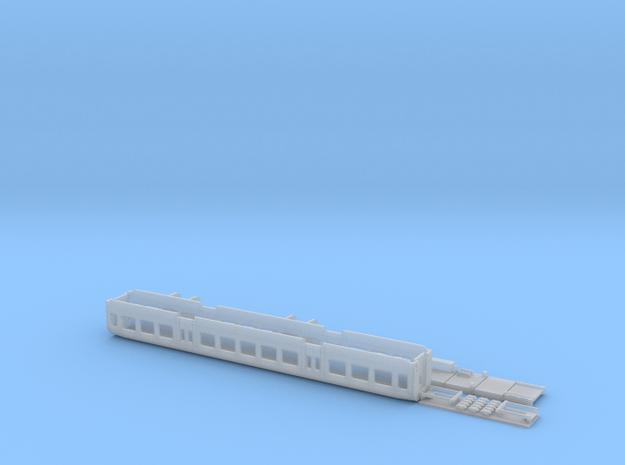 1:160-passenger PKP 120A - 2 class - Bonanza in Smoothest Fine Detail Plastic