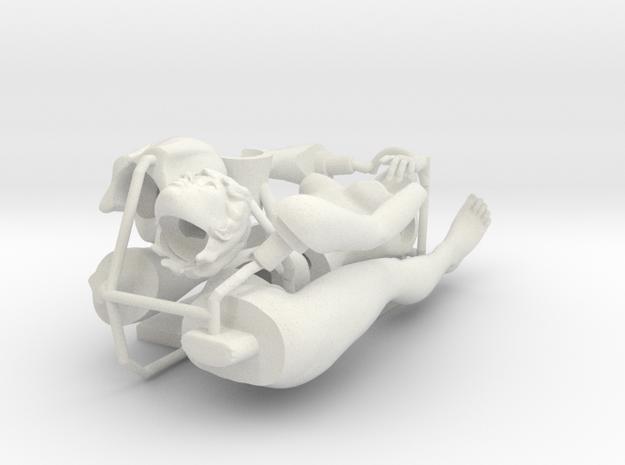 24th_mannequin female Brabara in parts UNTESTED! in White Natural Versatile Plastic