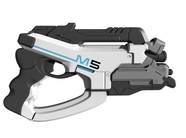 Mass Effect - 1:18 scale - M5 Phalanx in Smooth Fine Detail Plastic