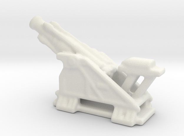 bl 15 inch siege howitzer 1/144  in White Natural Versatile Plastic