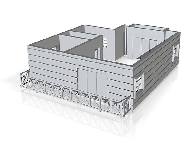 Pent floor plan_50 3d printed