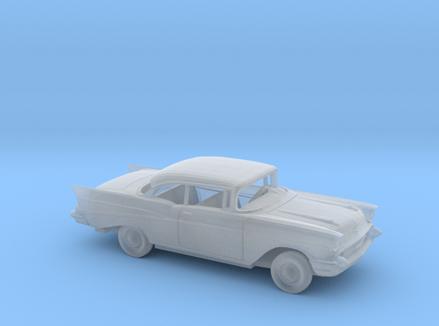 1/87 1957 Chevrolet BelAir Coupe Kit in Smooth Fine Detail Plastic
