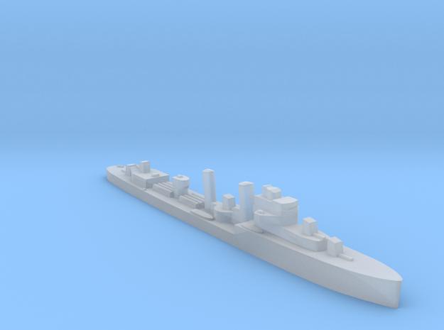 HMS Exmouth destroyer 1:1200 WW2 in Smooth Fine Detail Plastic