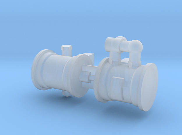 OO Scale LBSCR Craven Brake Pump in Smooth Fine Detail Plastic
