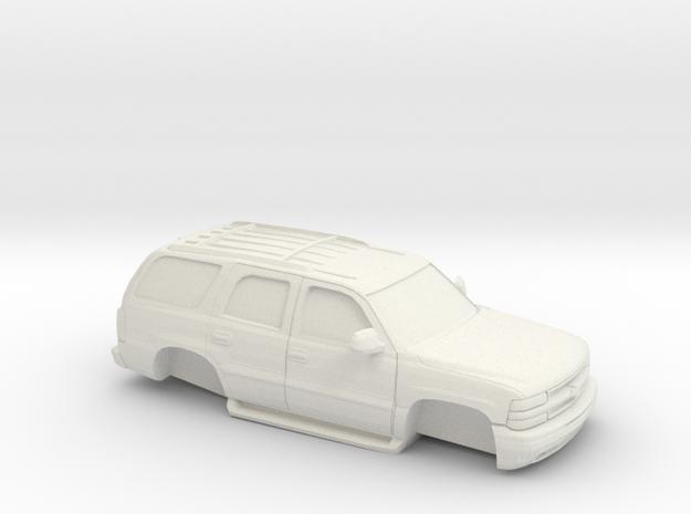 1/64 2000-06  Chevrolet Tahoe Shell in White Natural Versatile Plastic
