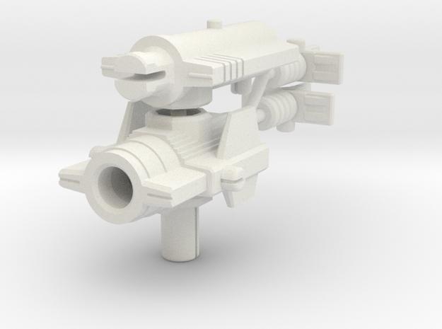 Predator Blaster for ER Doubledealer in White Natural Versatile Plastic