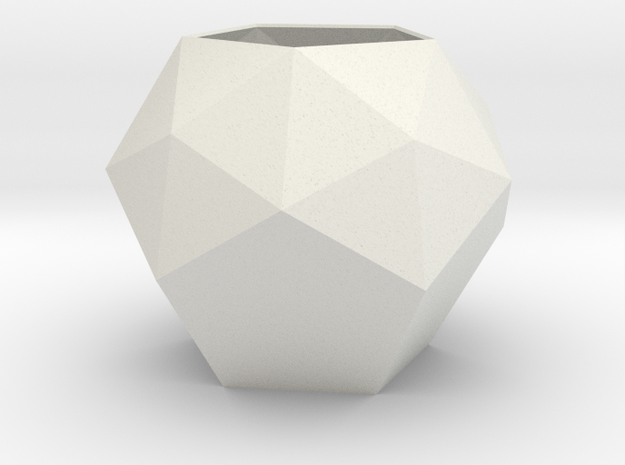 gmtrx lawal pentakis dodecahedron design  in White Natural Versatile Plastic