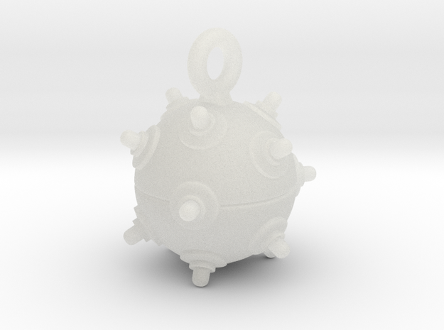 Keyring Mine 3d printed