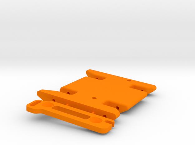 un-Stuck 3G Skid w/Hulkster Spacer in Orange Processed Versatile Plastic
