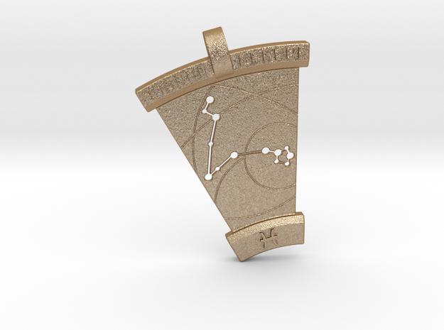 Pisces Constellation Pendant 3d printed