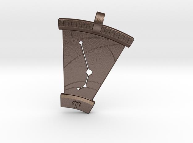 Aries Constellation Pendant 3d printed