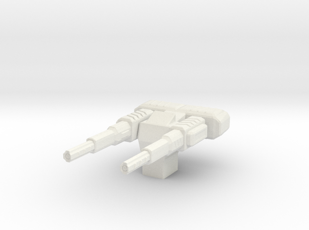 Particle Beam Accelerator Turret 3d printed