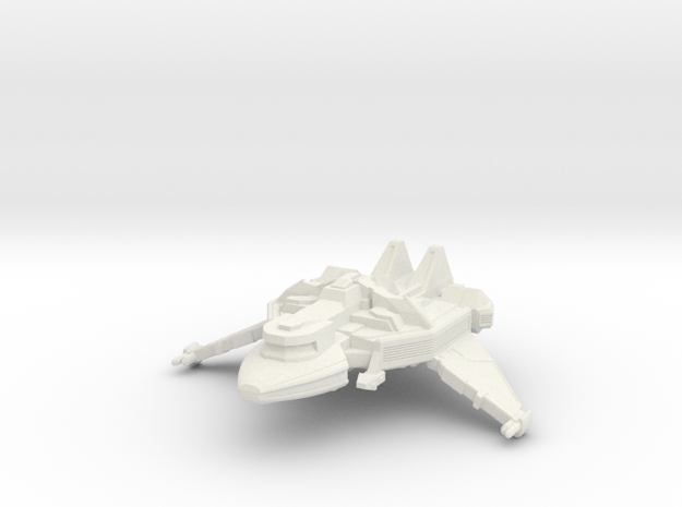 1/1000 Scale Hu-Day Class Transport in White Strong & Flexible
