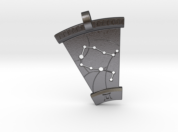 Gemini Constellation Pendant 3d printed