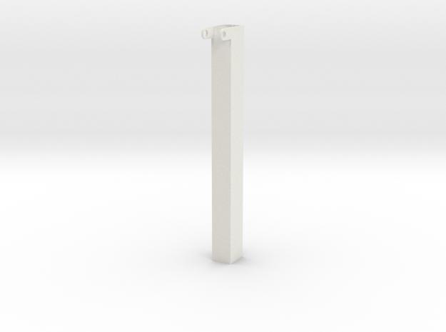 Telescoop 1 in White Natural Versatile Plastic