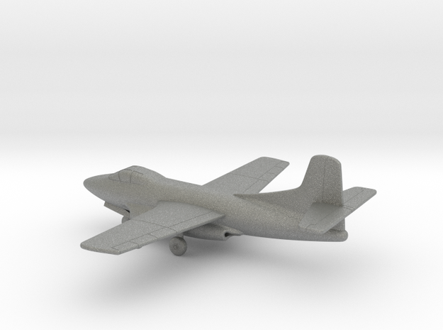 Douglas F3D Skyknight in Gray PA12: 1:200