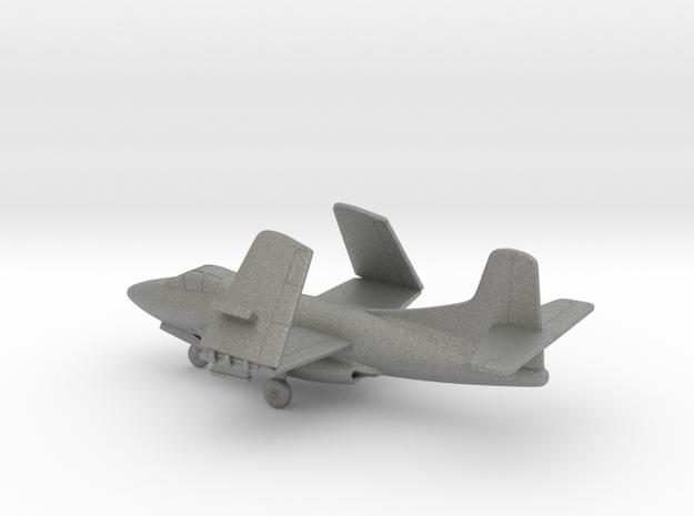 Douglas F3D Skyknight (folded wings) in Gray PA12: 1:200
