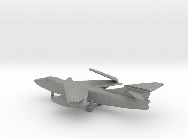 Douglas A3D-2 Skywarrior (folded wings) in Gray PA12: 1:350