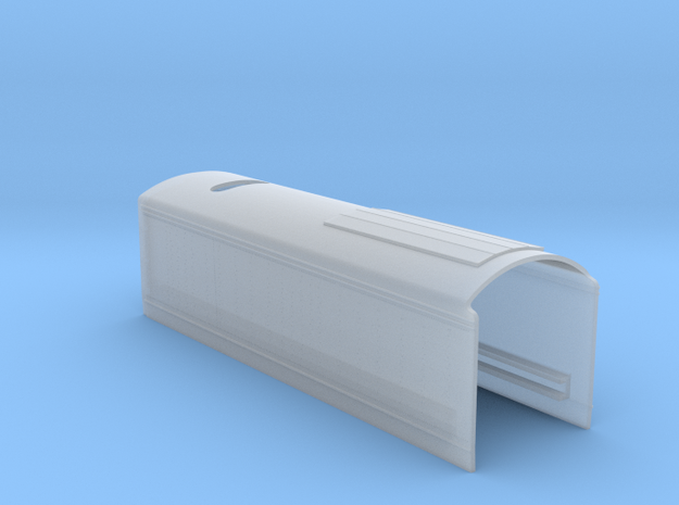 New York Central - Mercury - HO Tender Shell  in Smooth Fine Detail Plastic