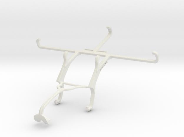 Controller mount for Xbox 360 & ZTE Blade 11 Prime in White Natural Versatile Plastic