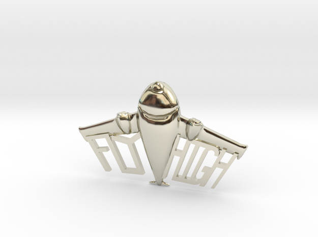 FLYHIGH: Plane Necklace 4inch 3d printed