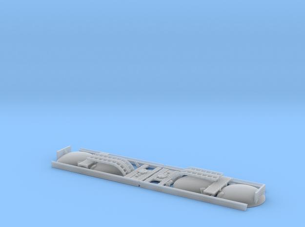 2x TT/3mm 45T TTA Tank Wagon Fittings in Smooth Fine Detail Plastic