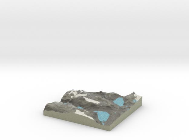 Terrafab generated model Tue Aug 12 2014 12:00:38  in Full Color Sandstone