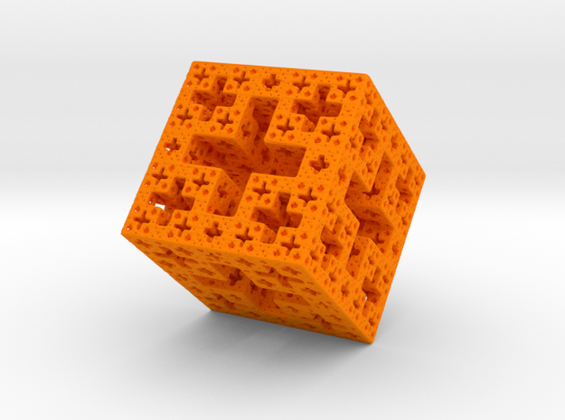 J-Cube Version 2 in Orange Strong & Flexible Polished